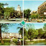 Pocztówka z Radomska z 1980 roku – cztery widoki