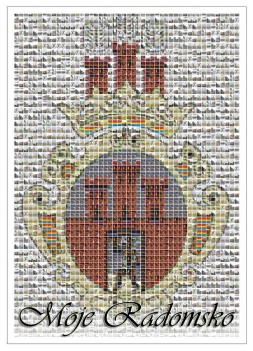 pocztowka_mozaikowy_herb_miasta_awers
