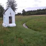 Murowana kapliczka przydrożna w Brodowem