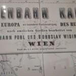 Radomsko na starej niemieckiej mapie kolei żelaznej