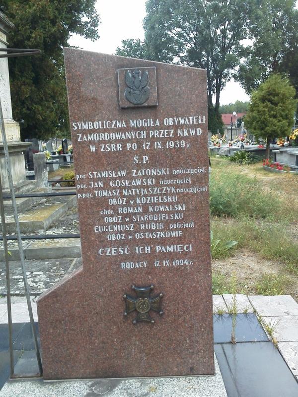 gidle_zamordowani_NKWD_pomnik_2