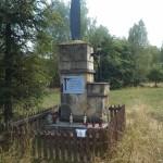 Pomnik ze śmigłem w Olszynkach
