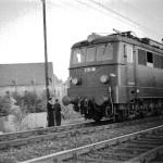 Elektryfikacja kolei w Radomsku (1957 r.)