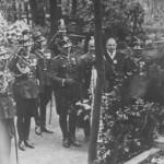 Pogrzeb Telesfora Mickiewicza. Zdjęcie z 1935 roku
