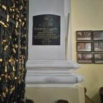 Tablica poświęcona ks. Gabrielowi Świtalskiemu (klasztor w Gidlach)