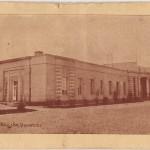 Stara pocztówka – dworzec w Radomsku