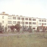 Budynek I Liceum Ogólnokształcącego (1989 rok)