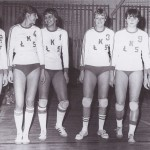 Zdjęcia Jolanty Molendy z czasów gry w ŁKS-ie Łódź