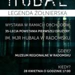 Wystawa z okazji 35 rocznicy powstania pierwszej drużyny harcerskiej im. mjr Hubala w Radomsku