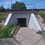 Tunel pod torami w Gomunicach (koło urzędu gminy)