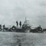 [foto] Latająca Forteca B-17G po awaryjnym lądowaniu koło Radomska