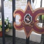 A metalowy płotek wokół gidelskiej kapliczki został zrobiony przez…