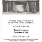 """Wystawa """"Rysunki prasowe Zdzisława Wiatra"""""""