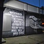 Nowy radomszczański mural – najpiękniej wygląda nocą
