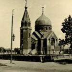 Nieistniejąca cerkiew prawosławna przy ul. Narutowicza w Radomsku