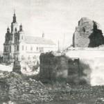 [stare zdjęcie] Wrzesień 1939 – centrum Radomska po niemieckim bombardowaniu