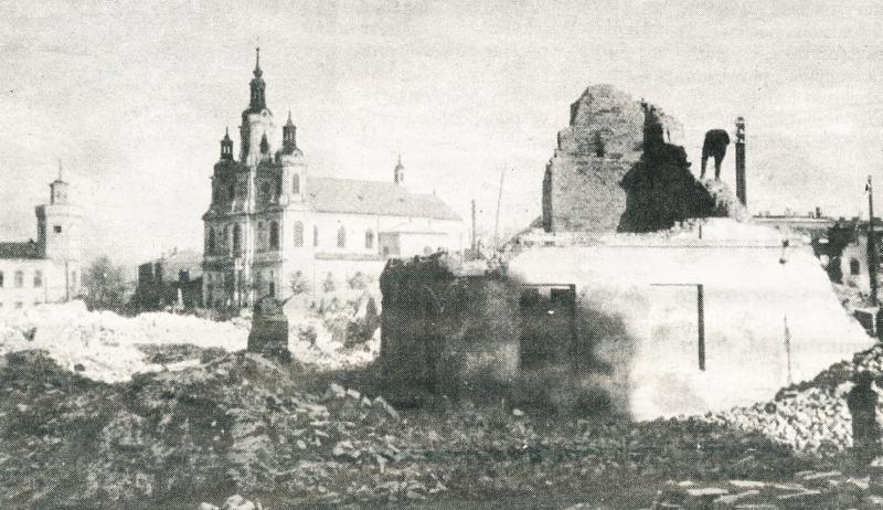 wrzesien_1939_-_centrum_radomska_po_niemieckim_bombardowaniu