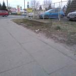 Pozostałości po dawnym przepuście (skrzyżowanie ul. Przedborskiej, Wilsona i Mickiewicza)