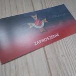 """Zaproszenie – uroczyste wręczenie statuetek """"Orzełek Warszyca"""" i Złotych Krzyży KWP w Radomsku"""