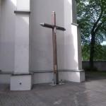 Pamiątka z powstania styczniowego na placu klasztornym