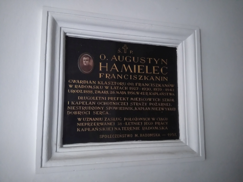 tablica_hamielec_klasztor_radomsko_2