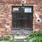 Opuszczony spichlerz w Sekursku