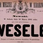 Radomszczańskie wesele przed laty