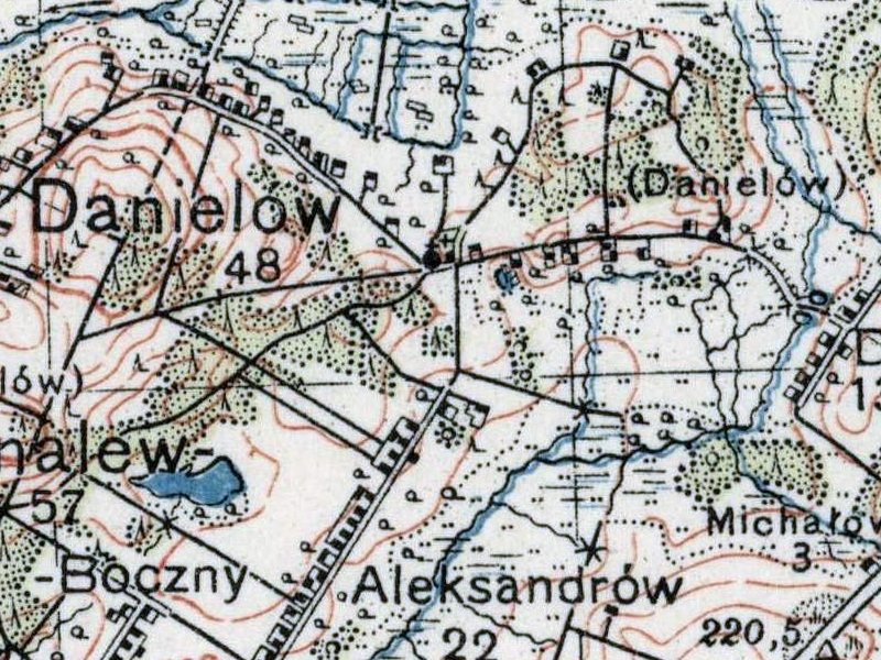 mapa_wig_pas44_slup29_wig_1_100000_1935_danielow_fragment