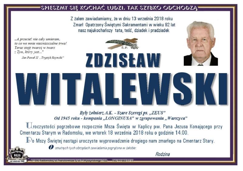 zdzislaw_witalewski_nekrolog