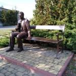 Odpocznij na ławce razem z Reymontem