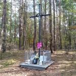 Orzechów: miejsce zrobienia krzyża brzozowego dla pielgrzymów – ciąg dalszy