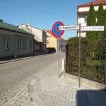 Ulica Przedborska w Chęcinach