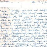 List napisany przez Feliksa Przyłubskiego (2 lipca 1975 r.)