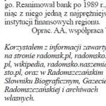 Informacje z radomsk.pl w lokalnej prasie