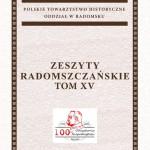 Promocja XV tomu Zeszytów Radomszczańskich
