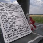 Pomnik partyzantów przed Krzętowem