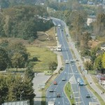 Niesamowite zdjęcie Radomska z 1997 roku (skrzyżowanie przed wiaduktem)