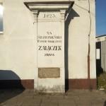 Epitafium dla Zajączka przy ulicy Św. Rozalii