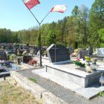 Grób powstańców styczniowych na cmentarzu w Bąkowej Górze