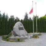 Gomunice. Obelisk poświęcony walczącym o wolną i niepodległą Ojczyznę