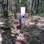 Dawny cmentarz ewangelicki nieopodal Huty Brudzkiej