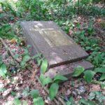 Dawny cmentarz ewangelicki w Hucie Porajskiej