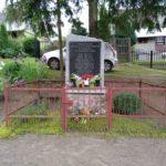 Masłowice. Tablica ku pamięci Polaków rozstrzelanych w 1943 roku