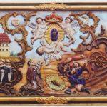 Pocztówka z Gidel – antepedium z Kaplicy Matki Bożej