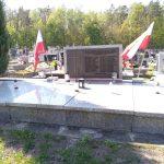 Grób żołnierzy Konspiracyjnego Wojska Polskiego na cmentarzu w Bąkowej Górze