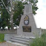 Pomnik poświęcony żołnierzom z 7 dywizji piechoty (na skraju cmentarza w Borzykowej)