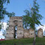 Ruiny zboru w Łapczynej Woli