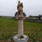 Figura Św. Jana Nepomucena w miejscowości Chełmo