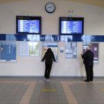 Ostatni dzień działania kasy biletowej na dworcu kolejowym w Radomsku
