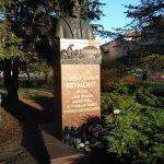 Pomnik Reymonta na skwerze Marcina Ziółkowskiego w Radomsku